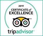 Trip Advisor 2019 - Certificate of Excellence Award