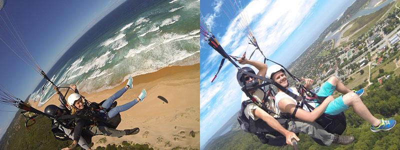 Dolphin Paragliding :: Tandem Flights in Wilderness